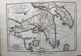 Maps, Plans, Views, and Coins illustrative of the Travels of Anacharsis the Younger in Greece during the Middle of the Fourth Century before the Christian Aera (1817)