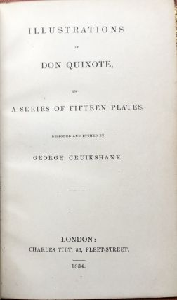 Illustrations of Don Quixote, in a series of Fifteen Plates...