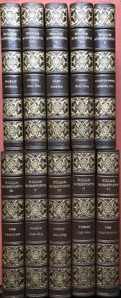 The Complete Poetical Works of William Wordsworth (1910, 10 volumes...