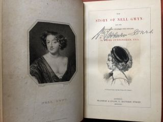 The Story of Nell Gwyn (1852 first edition, extra illustrated...