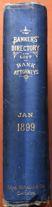 Rand McNally & Co.'s The Bankers' Directory and list of Bank Attorneys, January 1899 edition