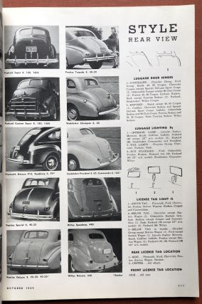 MOTOR, Annual Show Number October 1939