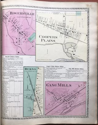 Atlas of Steuben County, New York, from actual surveys and...