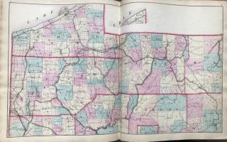 Combination Atlas of the County of Mercer and the state of Pennsylvania