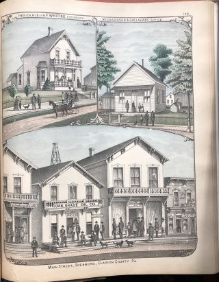 Caldwell's Illustrated Historical Combination of Clarion County, Pennsylvania (1877)