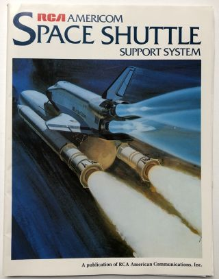 Space Shuttle Support System (1982, includes loose press glossies). Peter S. Abitanto