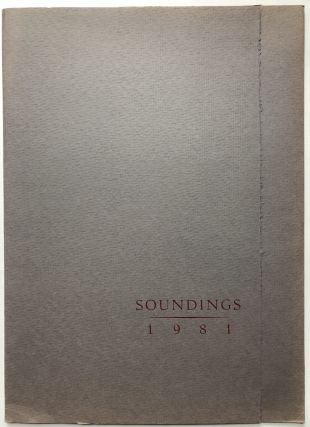Soundings, 1981. one two broadsides, her name spelled Yolen, Sam Hamill, Directors. Margaret...