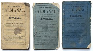 Hill's Pittsburgh Almanac on a new and improved plan for 1855 & 1856