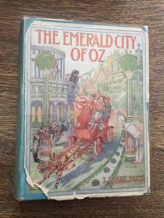 The Emerald City of Oz, First edition, first state, with...