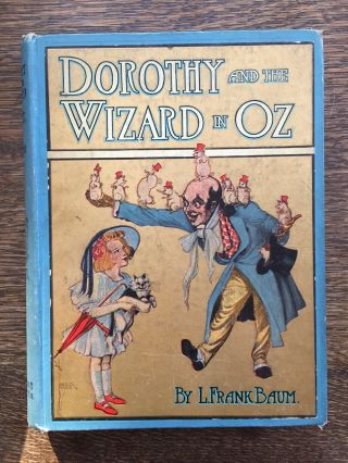 Dorothy and the Wizard of Oz, first edition