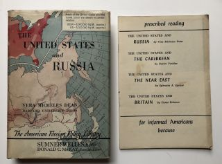 The United States and Russia. Vera Micheles Dean