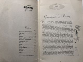 Liberty's New Book of Beauty (1930)