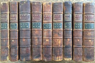 The Works of the Reverend William Law in Nine Volumes, 1762 (9 volumes)