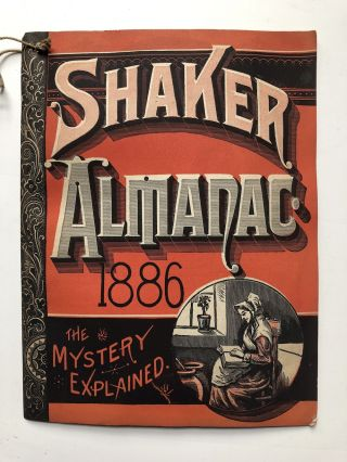 Shaker Almanac, the Mystery Explained (1886)