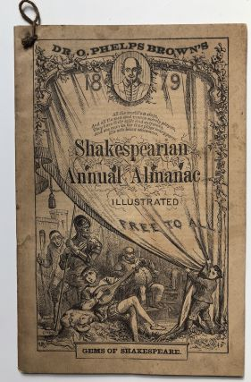 Dr. O. Phelps Brown's 1879 Shakespearian Annual Almanac