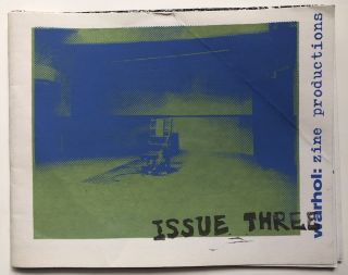 warhol: zine productions, issue three (2003). Andy Warhol Museum