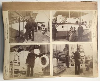 Photo album of the Holland Society of New York trip to Holland & Low Countries in July-August, 1888