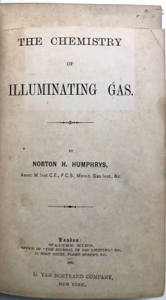 The Chemistry of Illuminating Gas