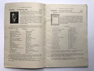 1924 Catalogue of Books on Physical Training, Folk Dances, Games, Athletics, Pageantry, Festivals, Natural Dancing, Aesthetic Dancing