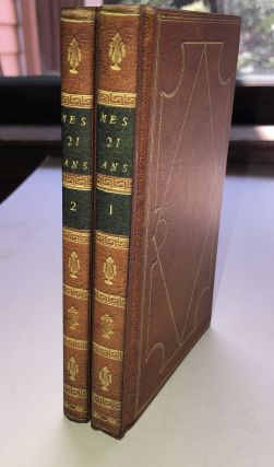 Mes 21 Ans; or, Memoirs of A Lady Bookseller, a Catalogue in Two Volumes. Amanda Hall