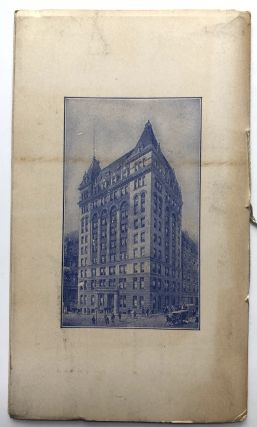 The Fidelity and Casualty Co. of New York. History, Standing, and Business Methods