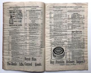 Pan-Handle Grocer and Merchant's Guide, Vol. XIV no. 12, Feb. 1, 1896