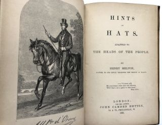 Hints on Hats, Adapted to the Heads of People