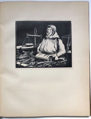Woodcuts: Examples Of The Work Of Clare Leighton. With An Introduction By Hilaire Belloc