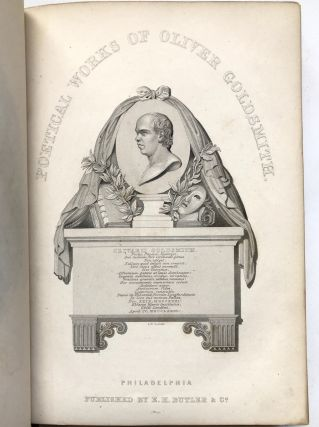 The Poetical Works of Oliver Goldsmith, M. B. with A Life [by Macaulay]