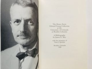The Henry Pettit EDWARD YOUNG Collection at the University of Colorado at Boulder Libraries