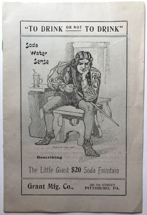 """To Drink or not To Drink"" -- Soda Water Sense describing the Little Giant $20 Soda Fountain (Ca...."