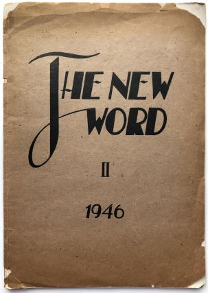 The New World, No. 2 1946, Latvian Monthly Magazine for Literature and Art in Meerbeck. Latvia,...
