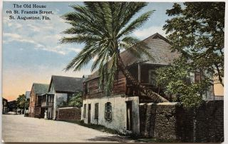 18 early 1900s postcards of St. Augustine Florida in fine condition