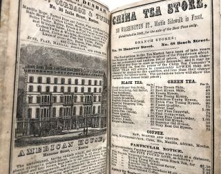 The Boston Almanac for the year 1852