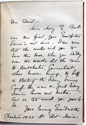 My Last Friend Dog Dick - inscribed to Sidney Lanier Jr. from Lista, Burt and Caruso (!)