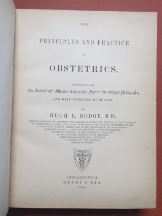 The Principles and Practice of Obstetrics.
