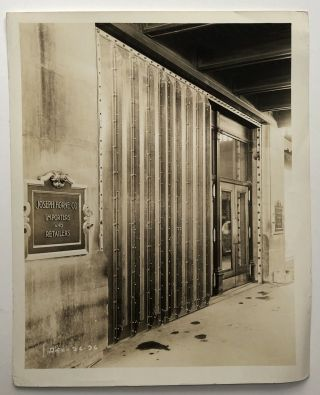 25 8x10 original photos of Joseph Horne department store, 1937, getting renovated after massive 1936 flood