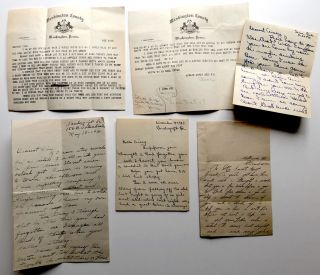 Letters from 4 girlfriends to a Don Juan of Mercer County, PA 1929-1931