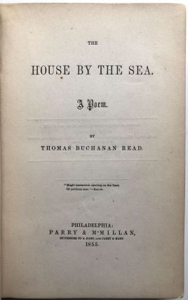 The House By the Sea, A Poem