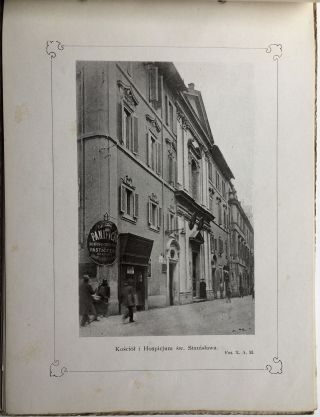 Album Pamiatek Polskich w Rzymie / Album of Polish Souvenirs in Rome