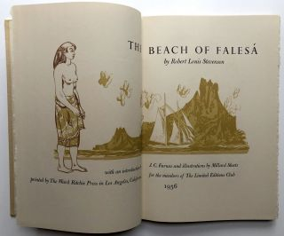 The Beach of Falesa - LEC edition signed by illustrator