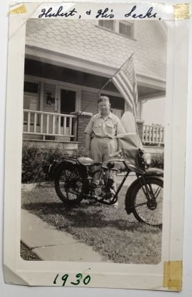 13 photos of men on motorcycles 1920s-1940s