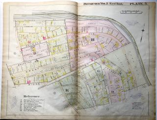 1898 22x29 Pittsburgh Plat Map: N. Oakland, Schenley Farms