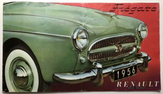 1956 brochure for Renault Fregate