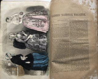 The New Mirror - bound volume of select issues 1843-1844
