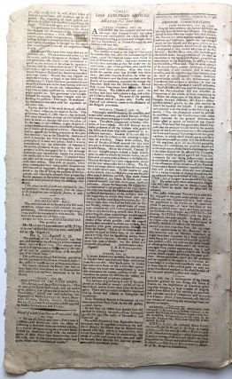 The Massachusetts Centinel, March 6, 1790