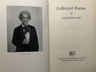 Collected Poems, with a biographical memoir by Alida Monro