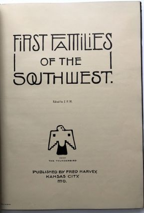First Families of the Southwest