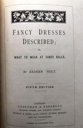 Fancy Dresses Described, or What to Wear at Fancy Balls