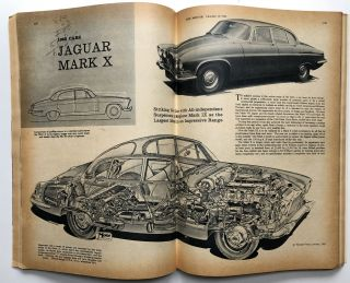 The Motor (English Auto Magazine) October 18, 1961 London Motor Show Issue